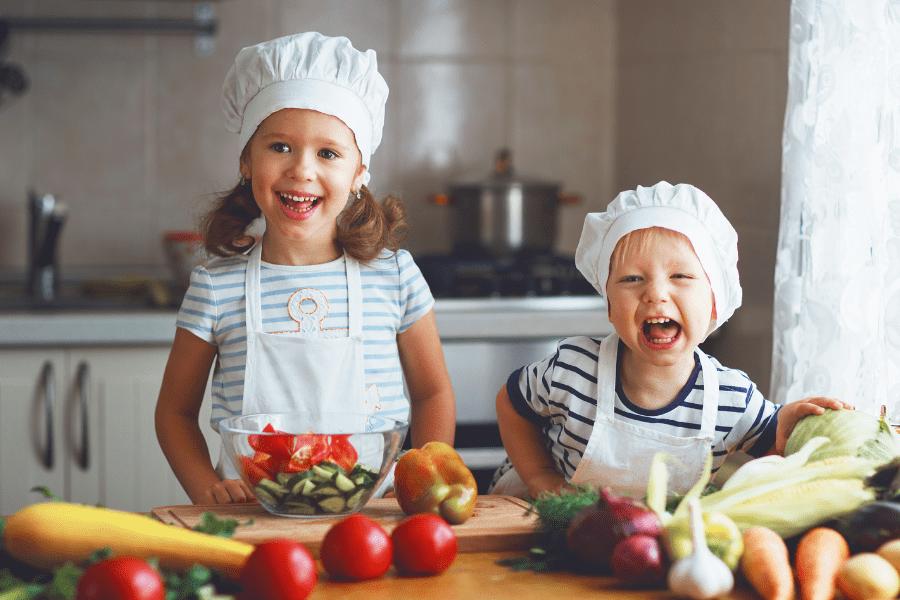 Cuina fàcilment per als nens - Blog Nutrició 5 Serveis